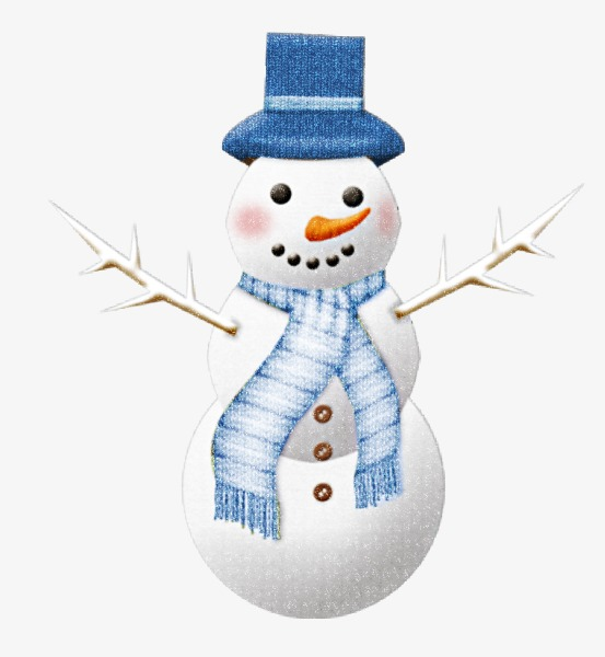 snowman, Winter, Hat, Scarf Free PNG Image and Clipart - Snowman Free PNG