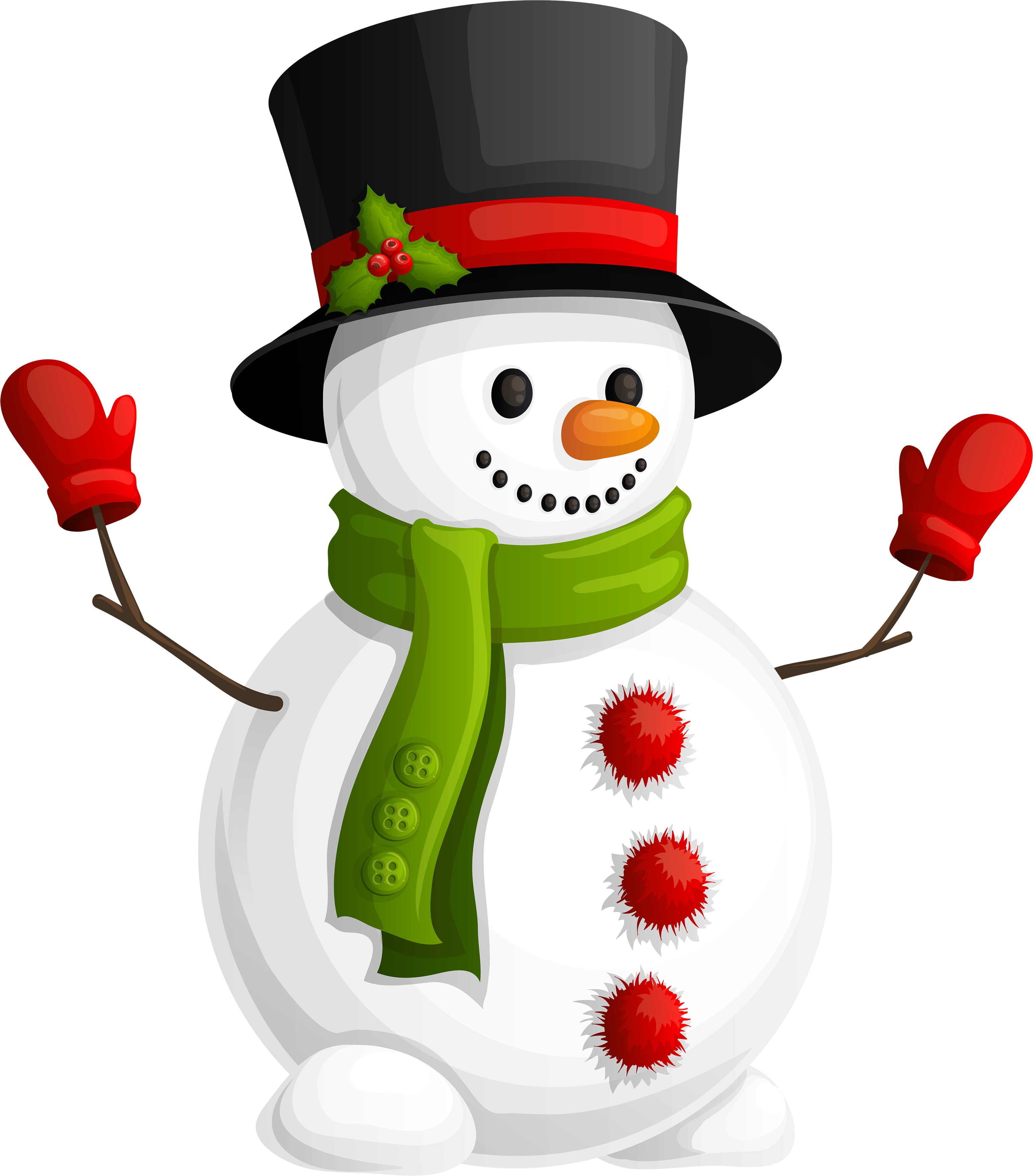 Snowman HD PNG - 117633