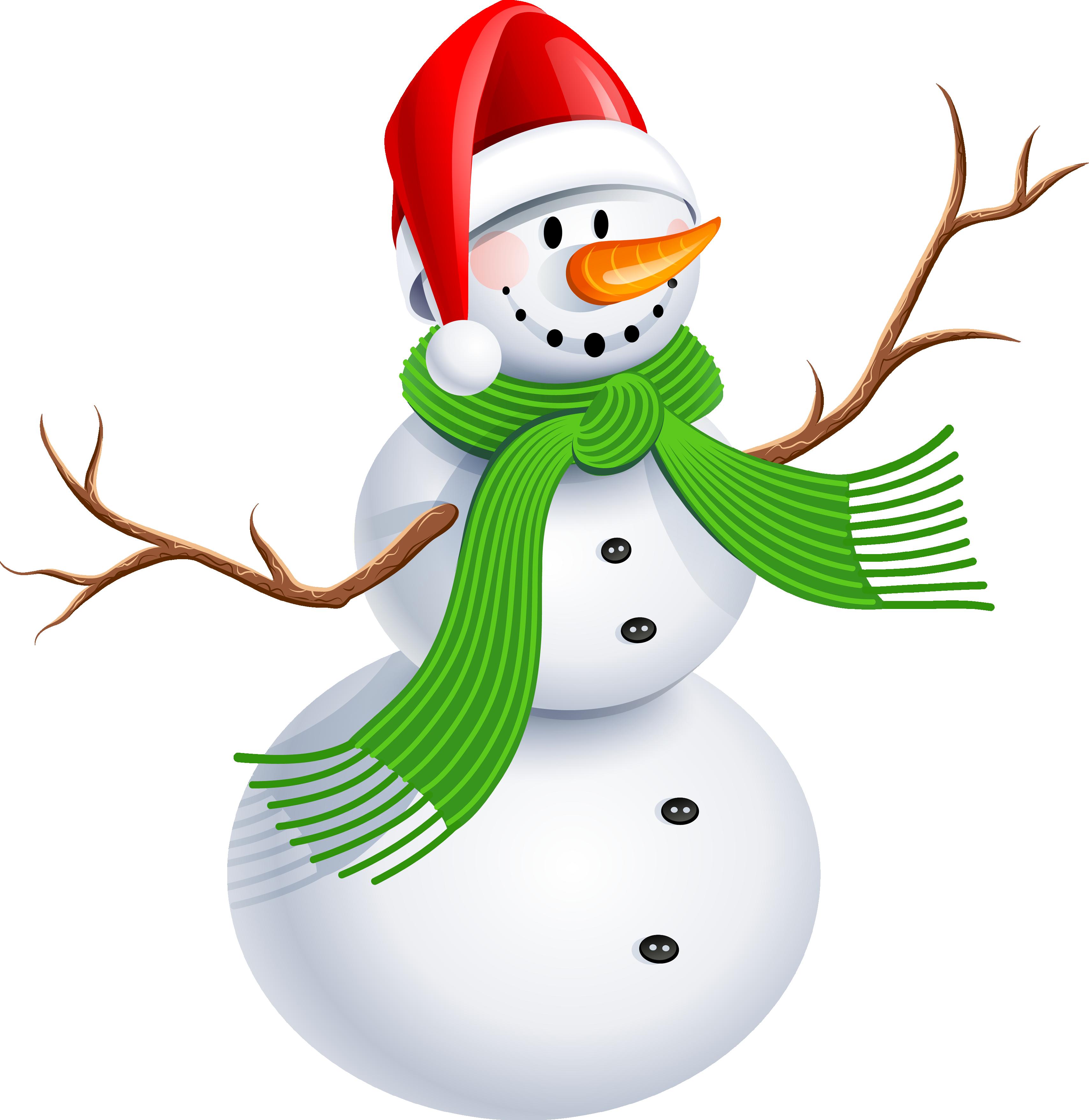 Snowman HD PNG - 117634