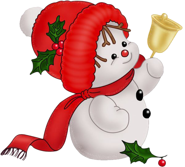 Snowman PNG vector material,