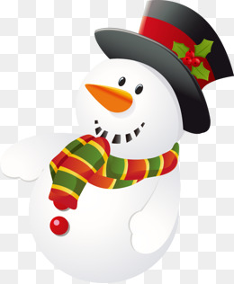 Cartoon Snowman PNG