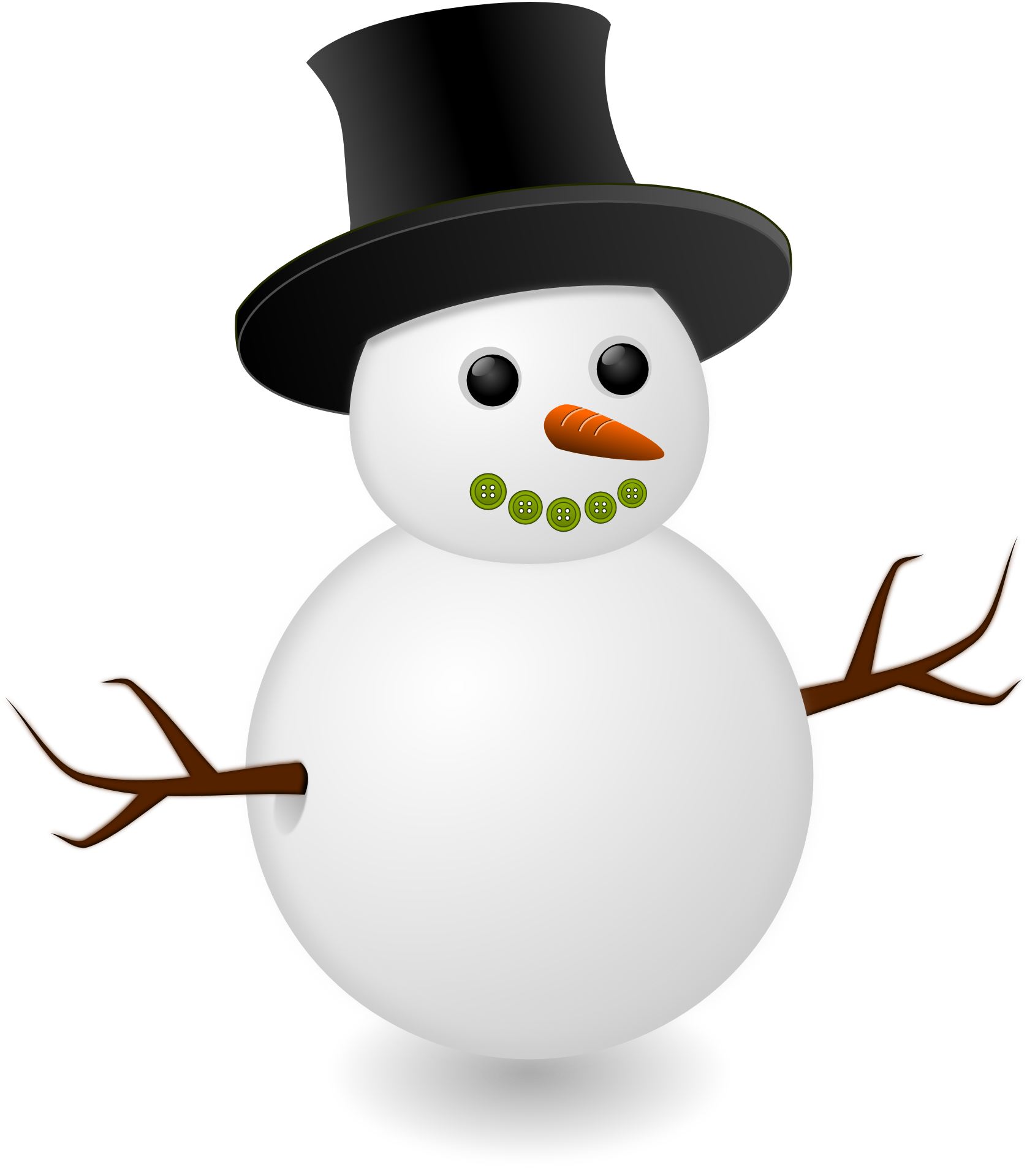 File:Snowman illustration.png - Snowman PNG