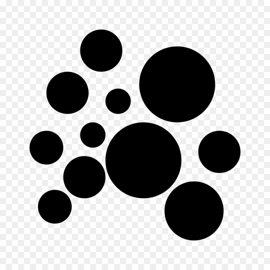 Soap Bubbles PNG Black And White - 163429