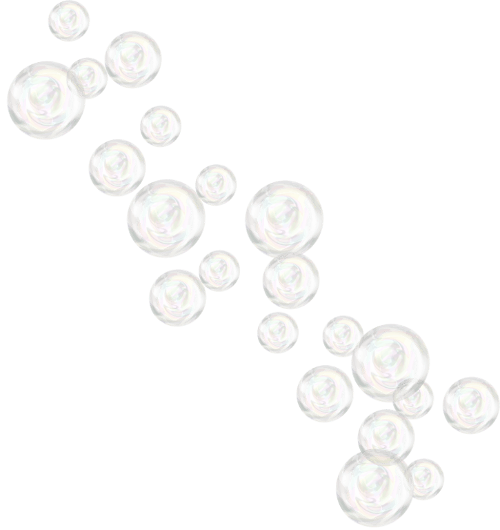 Soap Bubbles PNG Black And White - 163432