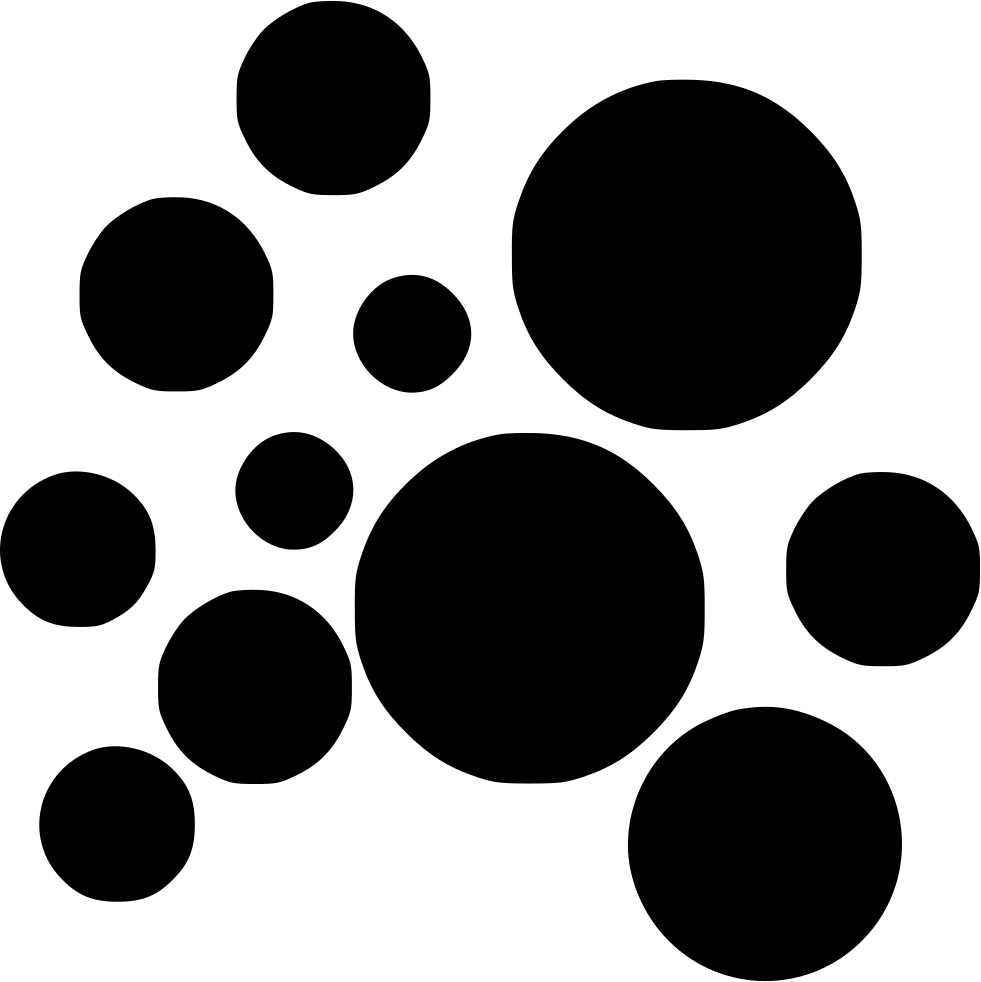 Soap Bubbles PNG Black And White - 163427