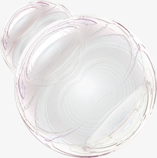 Soap Bubbles PNG Black And White - 163433