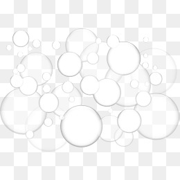 Soap Bubbles PNG Black And White - 163424