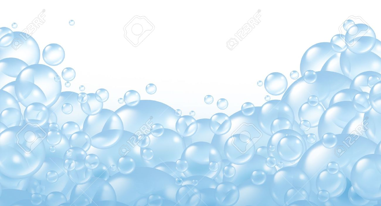 . PlusPng.com 11221500-Bubbles-foaming-and-transparent-bath-soap-suds-with-bubble-composition-at-the-bottom-floating-as-cle-Stock-Photo.jpg  PlusPng.com  - Soap Suds PNG