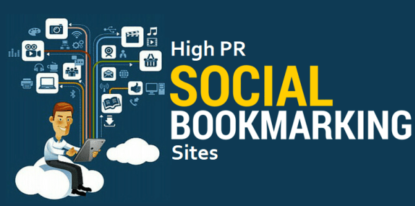100 HIgh PR Dofollow Social Bookmarking Sites List of 2018 - Social Bookmarking PNG