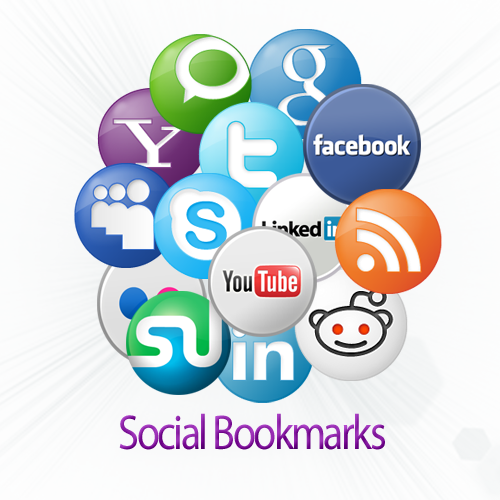 bookmark your link to 100 social bookmarking sites - Social Bookmarking PNG