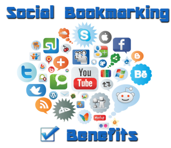 How To Rank Your Site With Social Bookmarking - Social Bookmarking PNG