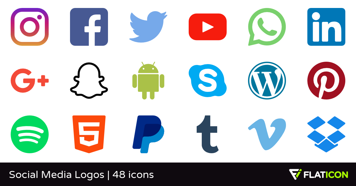 Social Icons PNG