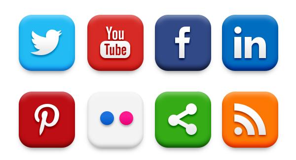 Friends PlusPng.com  - Social Media Icons PNG