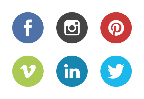Iconset:social-media-icons-the-circle-set Icons - Download 9 Free U0026 Premium  Icons On Iconfinder - Social Media Icons PNG