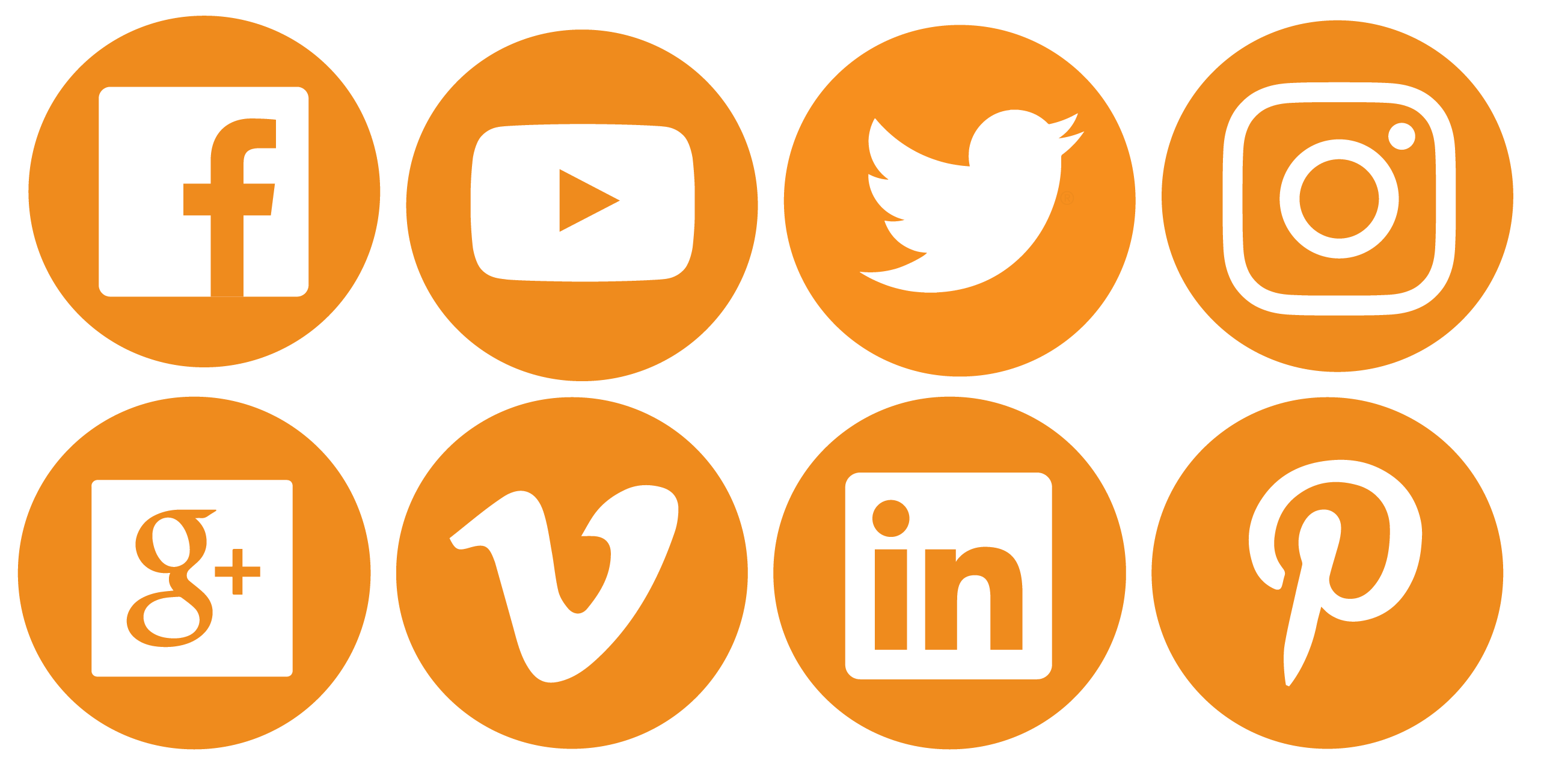 viva-logo-social-media-icons - Social Media Icons PNG