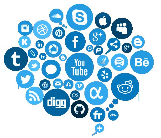 Social Media PNG - 10360