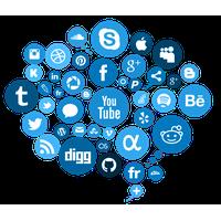 Social Media Free Png Image PNG Image - Social Media PNG