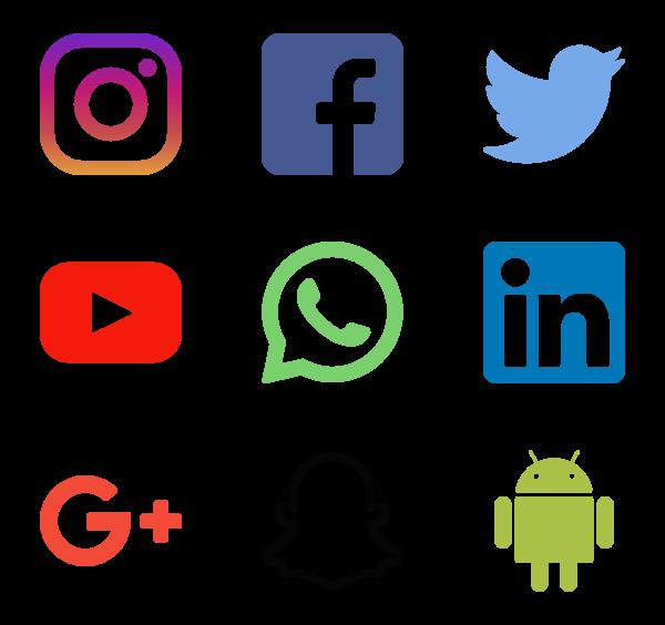 Social Media Logos - Social Media PNG