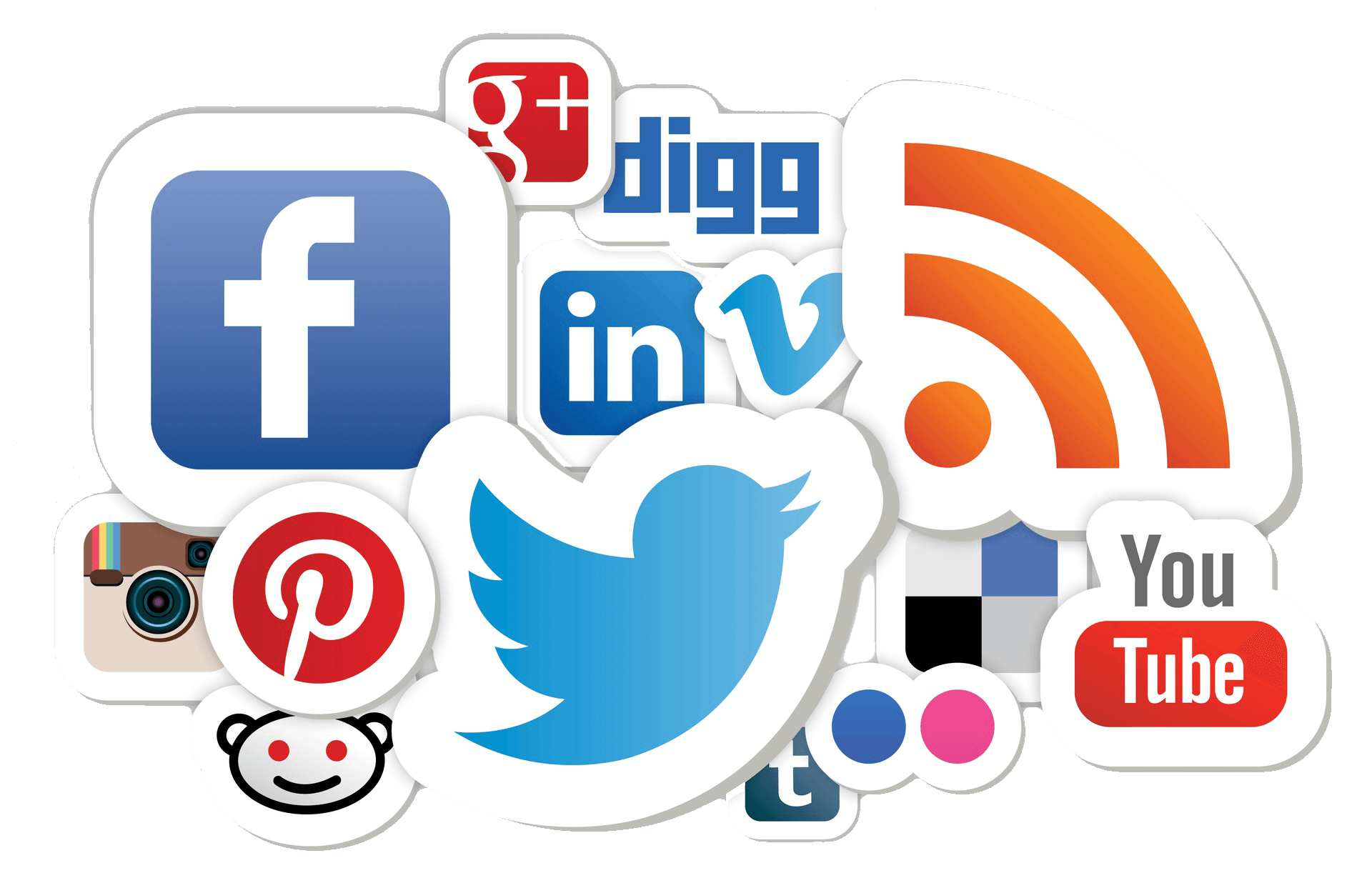 SOCIAL MEDIA MARKETING - Social Media PNG