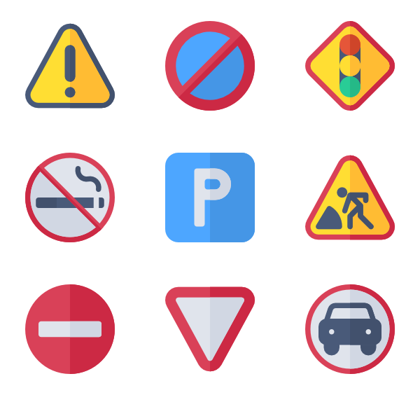 Traffic Signs - Social Media PNG
