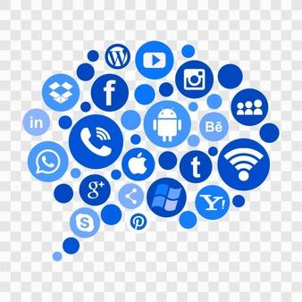 Social Media Vector PNG - 115925