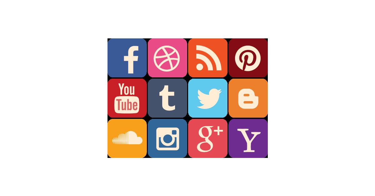 Social Media Vector PNG - 115917