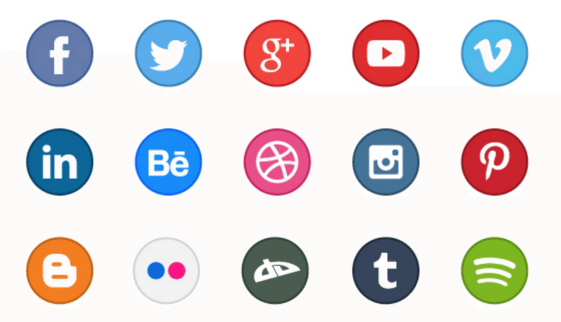 15. Free circle icons - Social Networking PNG HD
