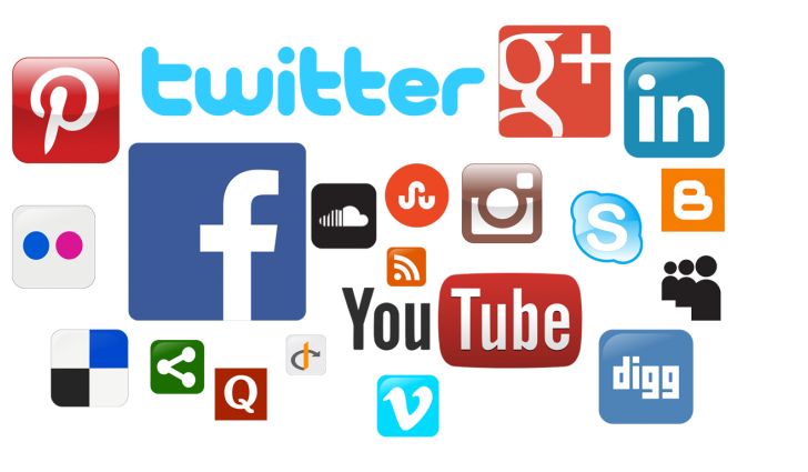Most Popular Social Media Networks In The World - Social Networking PNG HD