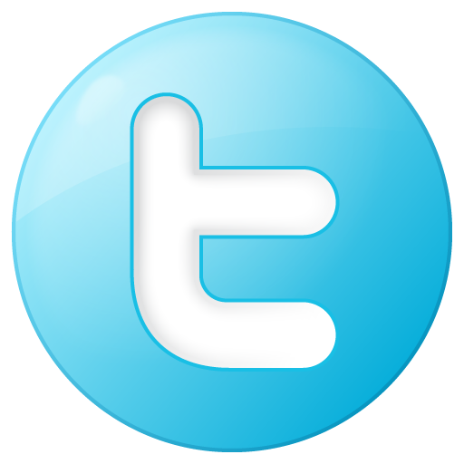 Social Twitter Button Blue Icon | Social Bookmark Iconset | YOOtheme Image  #87 - Twitter PNG