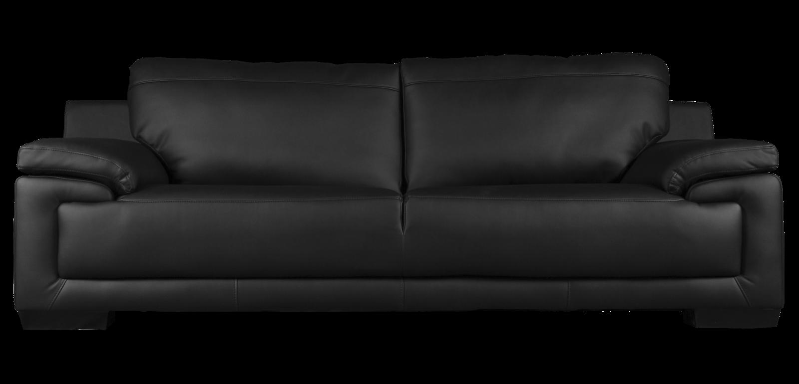 Black sofa PNG image - Sofa PNG