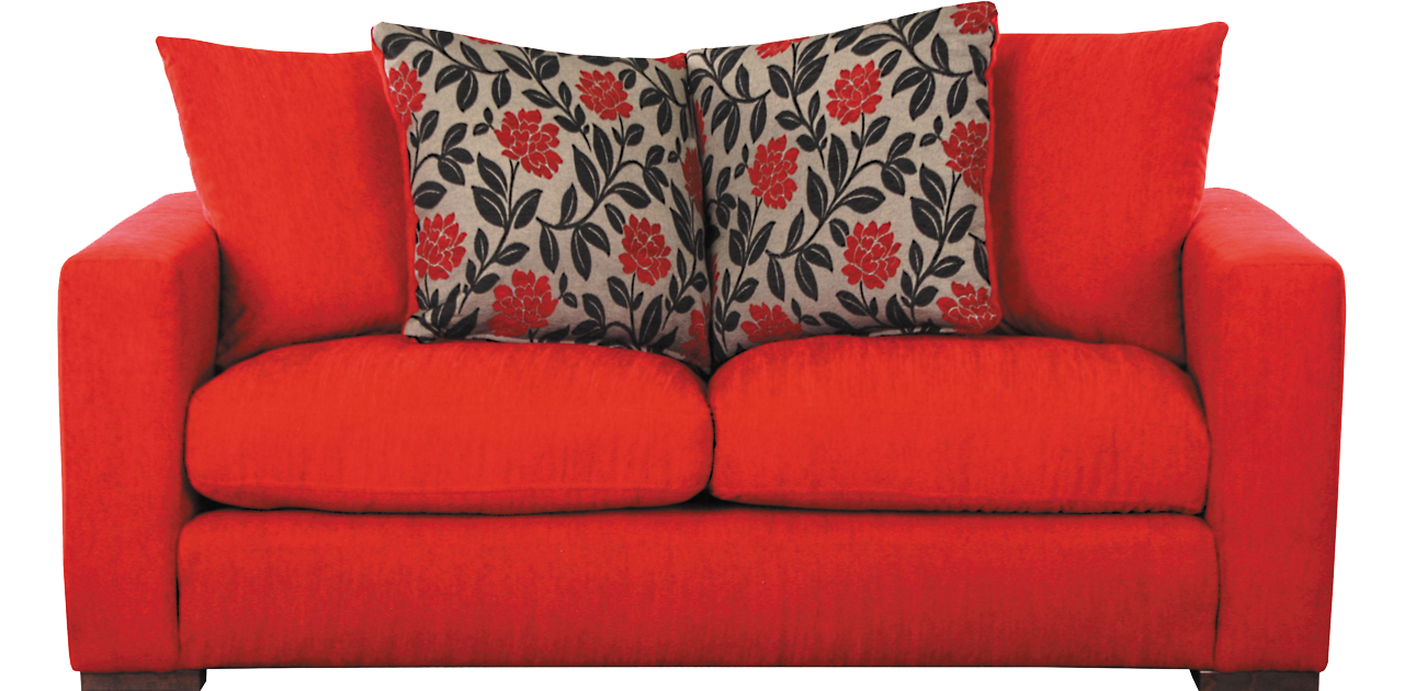 Red sofa PNG image - Sofa PNG
