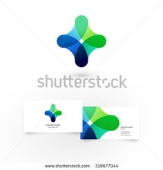 Modern Icon Design Logo Element With Business Card Template Best For Identity And Logotypes