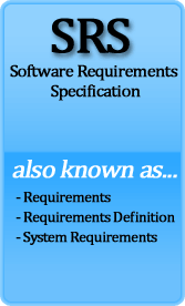 software requirement specification Software requirements specification date: sdlc internal use only ©sdlc, 2000 page 7 • throughput, for example, transactions per second • capacity, for example, the number of customers or transactions the system can accommodate.