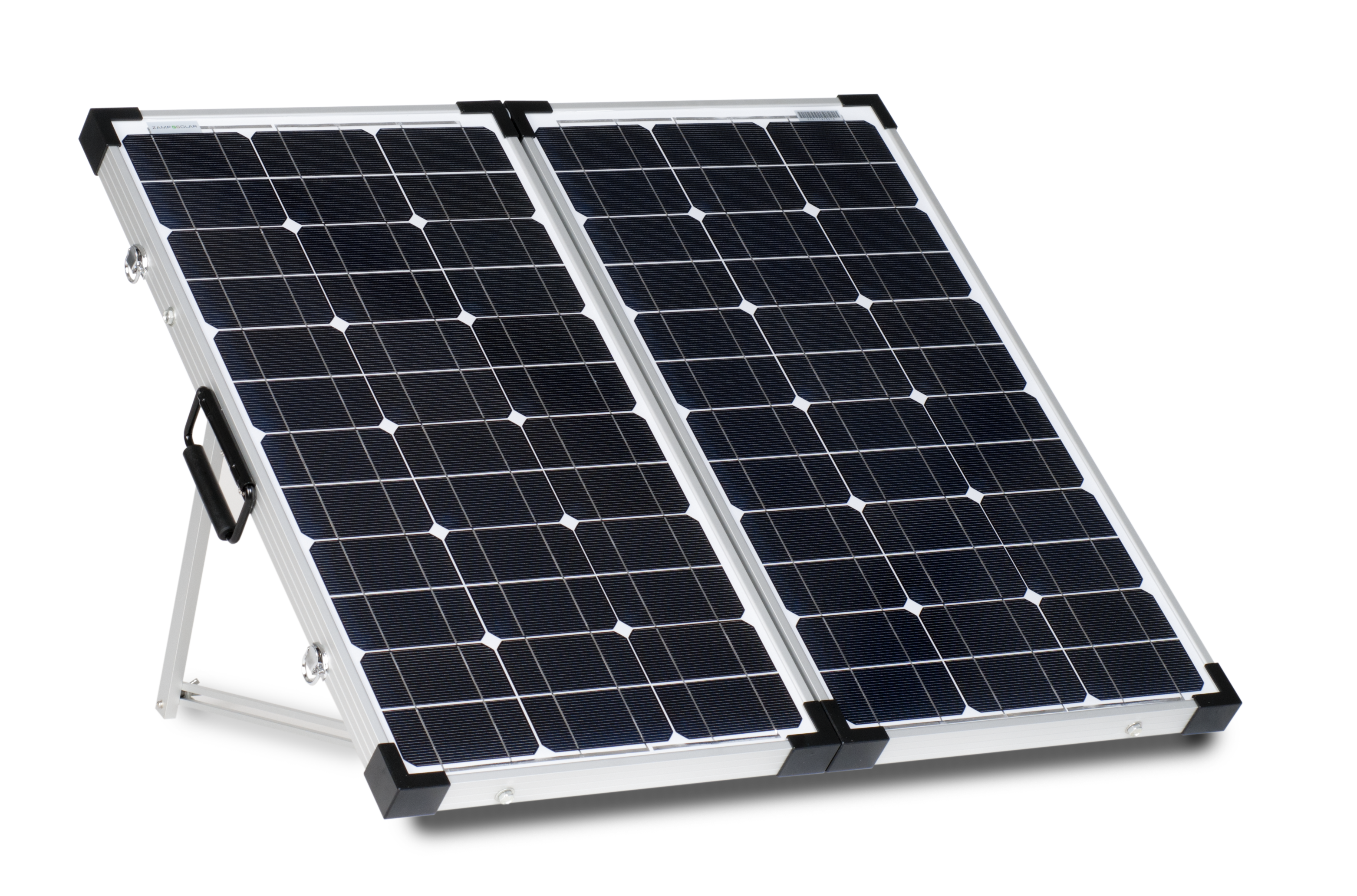 How does portable solar power