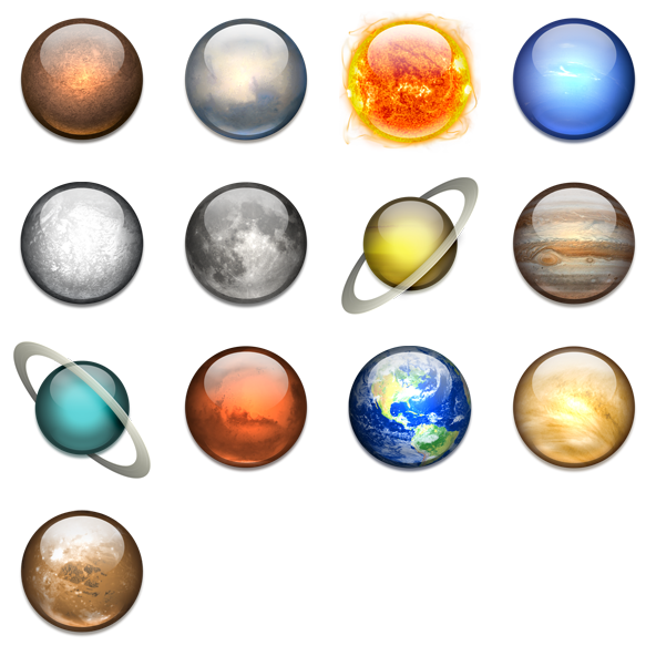 Search - Solar System PNG HD