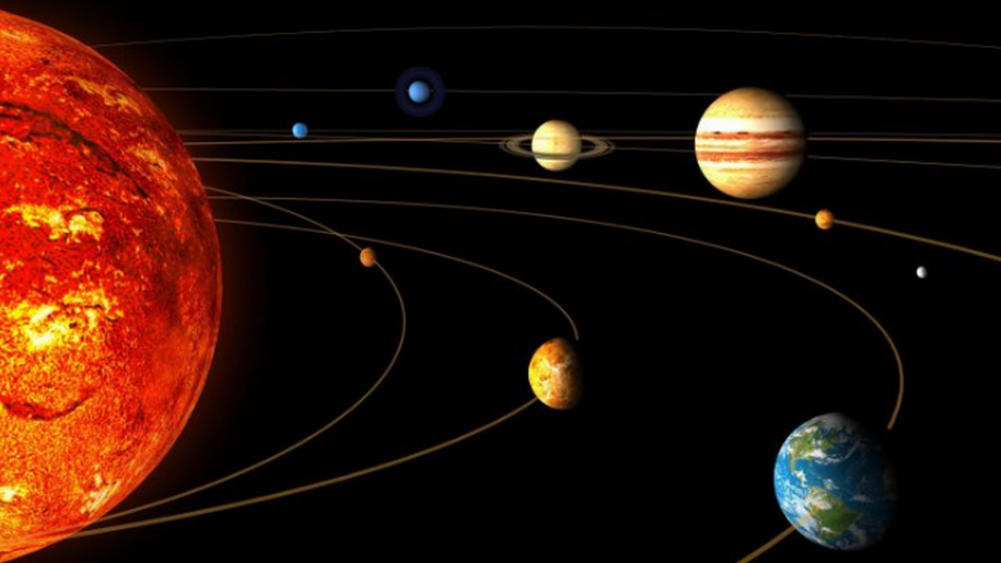 Solar System PNG HD
