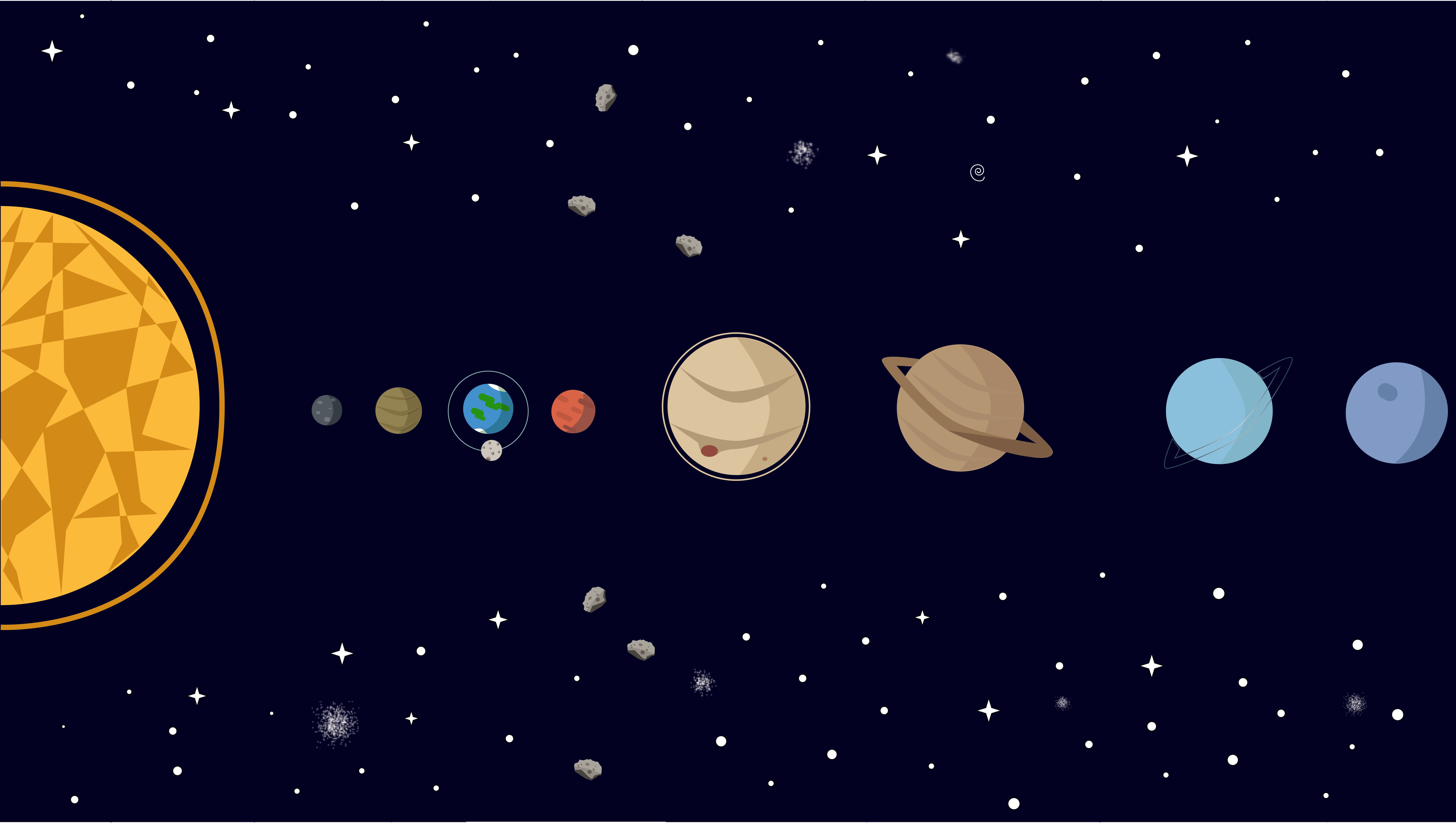The Solar System - Solar System PNG HD