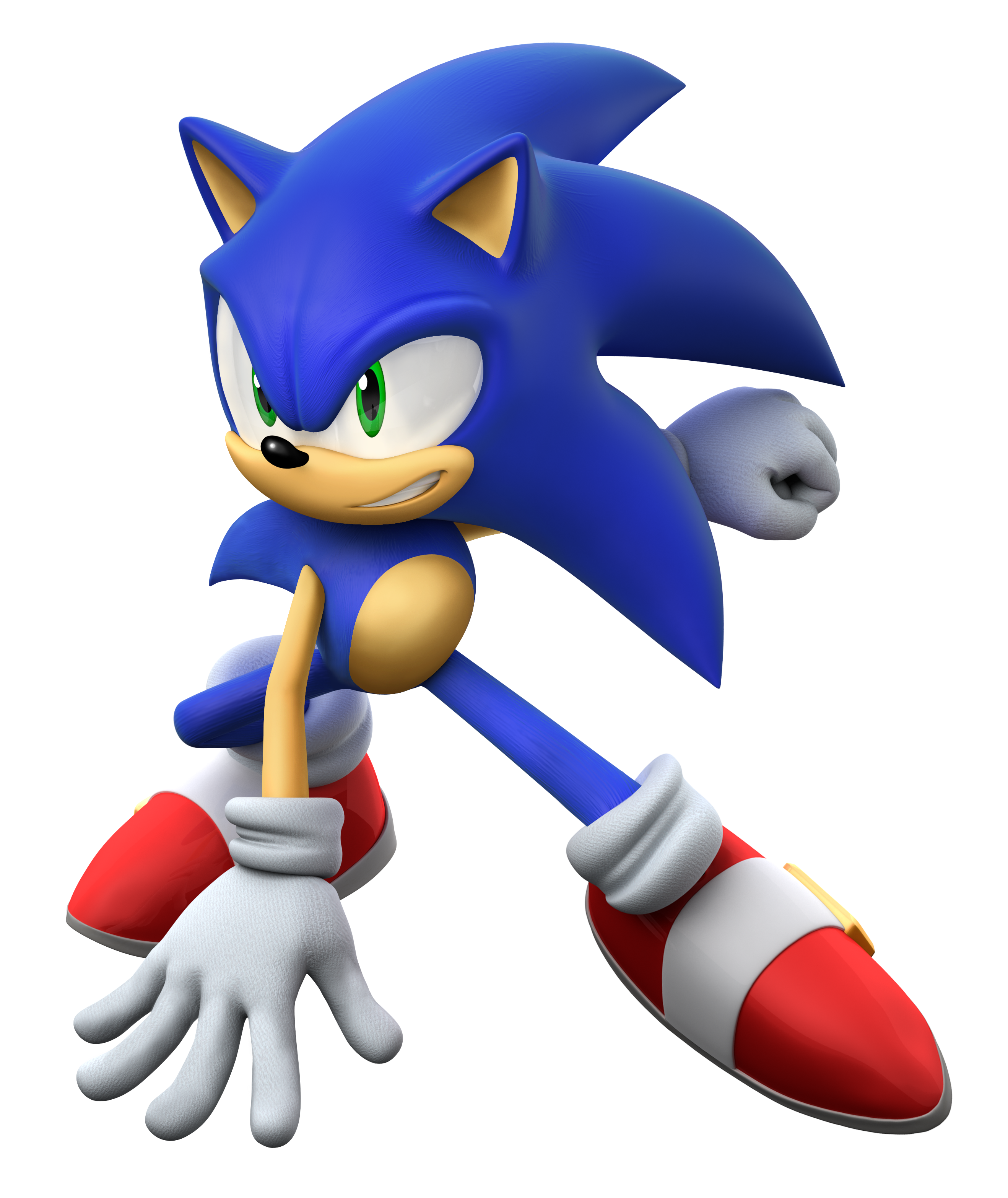 Hd sonic clipart - Sonic HD PNG