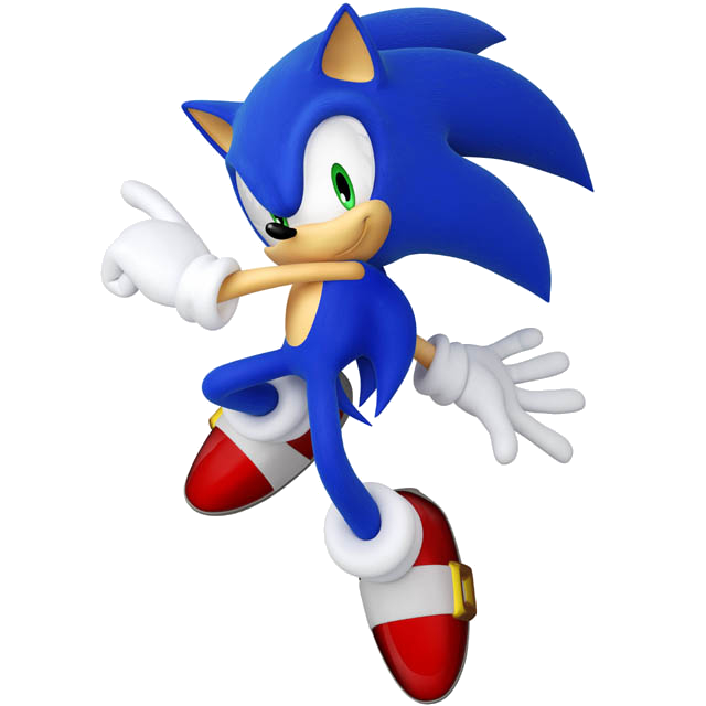 Sonic-generations-modern-sonic.png - Sonic HD PNG