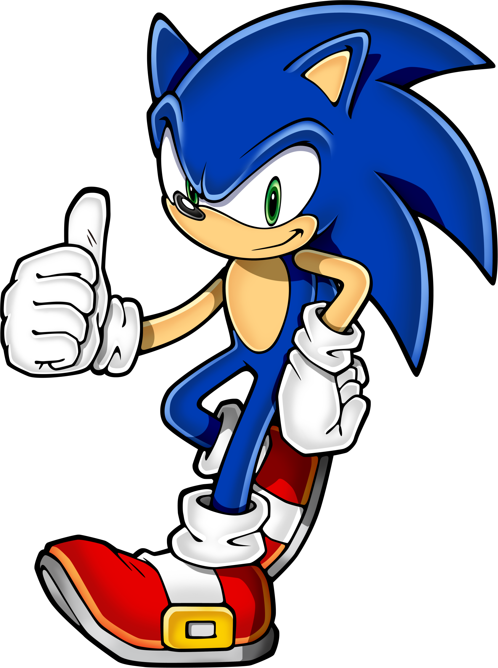 Sonic HD PNG - 120027
