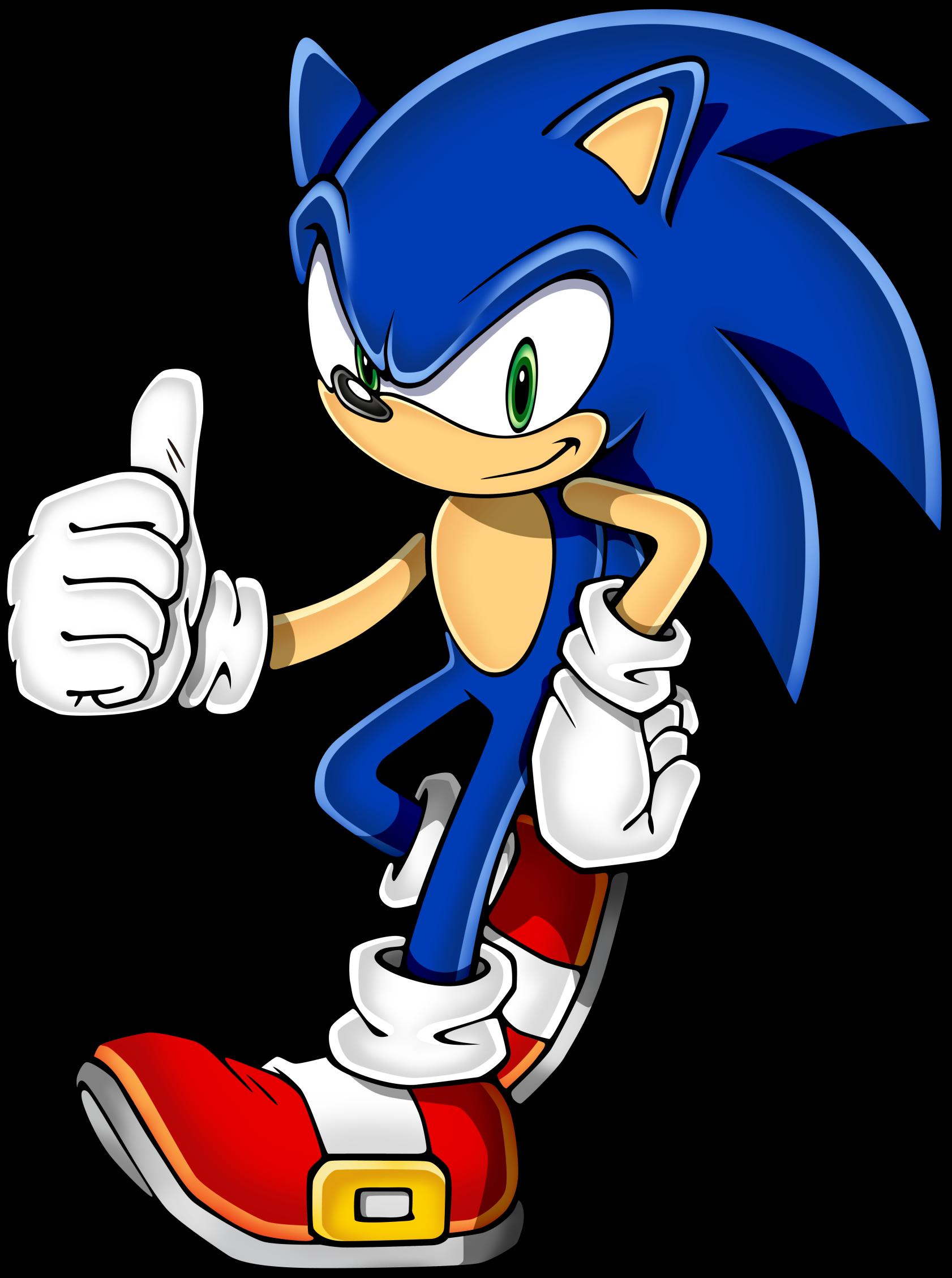 Sonic (II).png - Sonic HD PNG