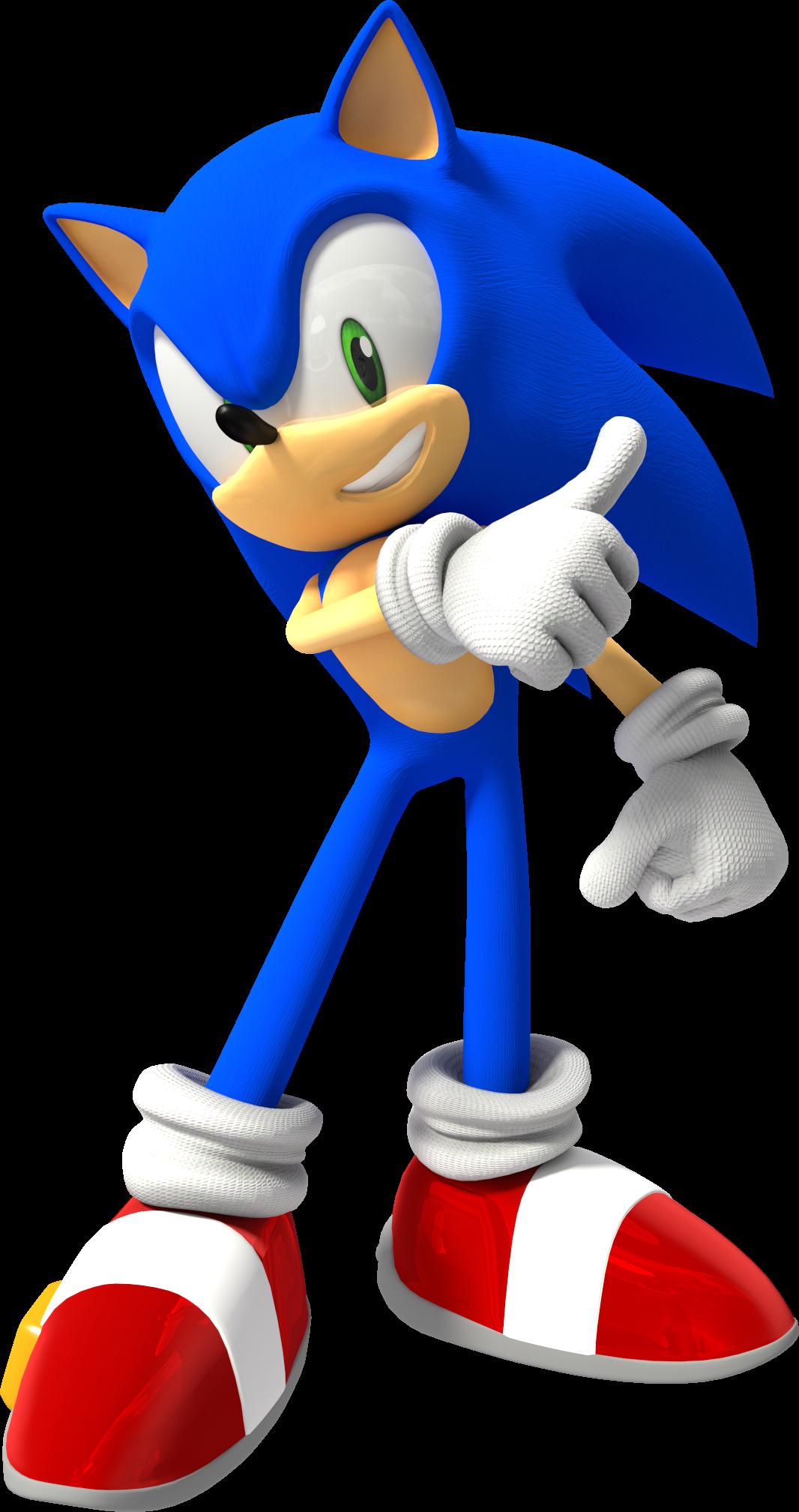 . PlusPng.com Sonic the Hedgehog (SSBB) (HD) by Jogita6 - Sonic HD PNG