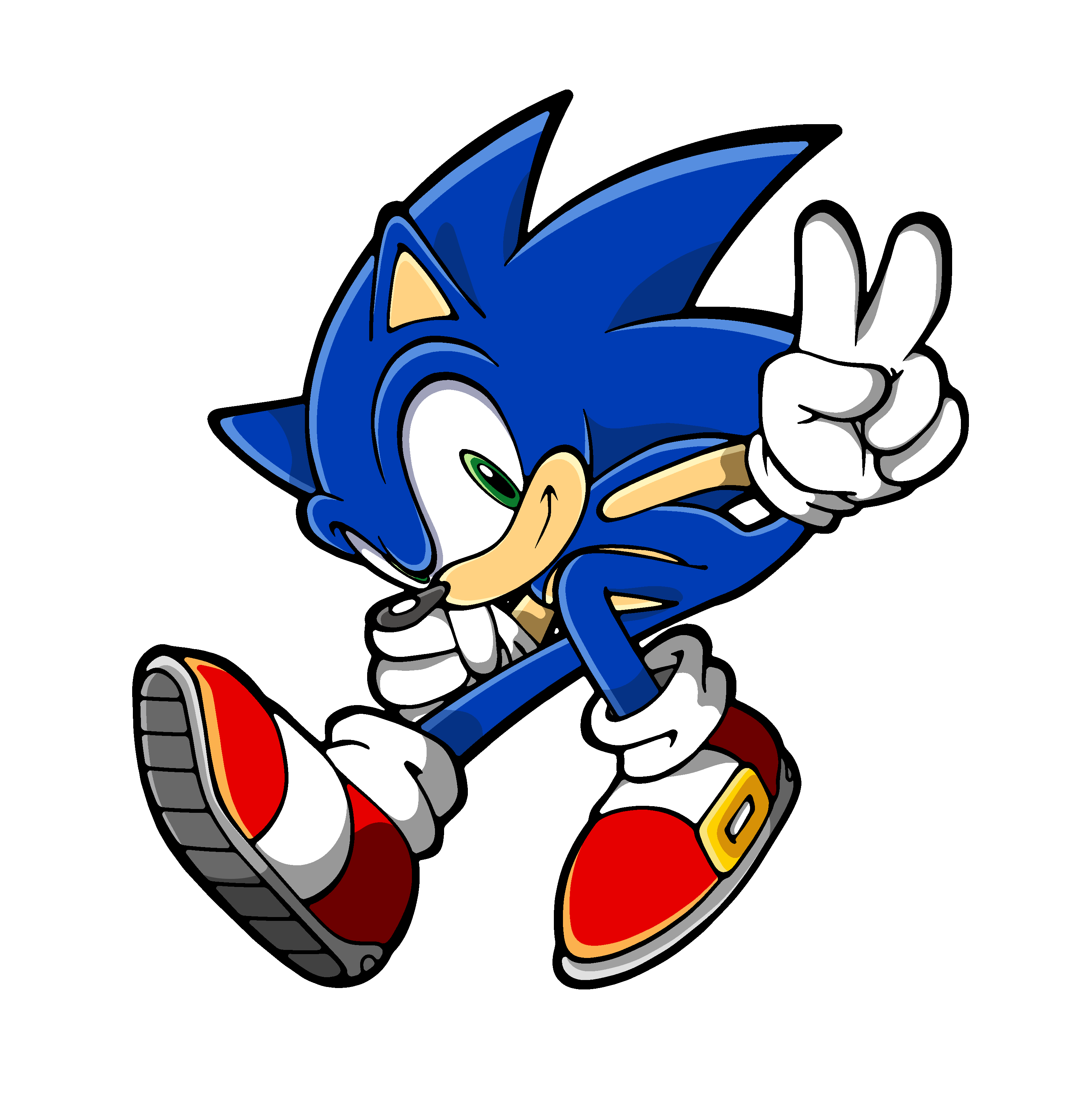 Sonic HD PNG - 120031