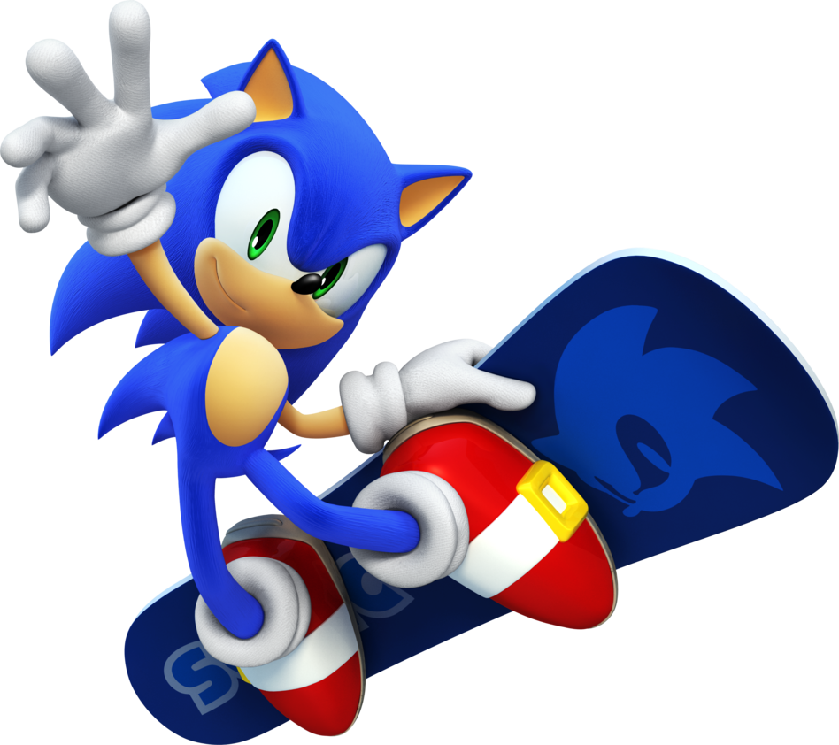 Sonic The Hedgehog PNG - 13007