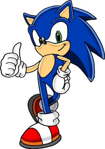 File:Sonic The Hedgehog.png - Sonic The Hedgehog PNG
