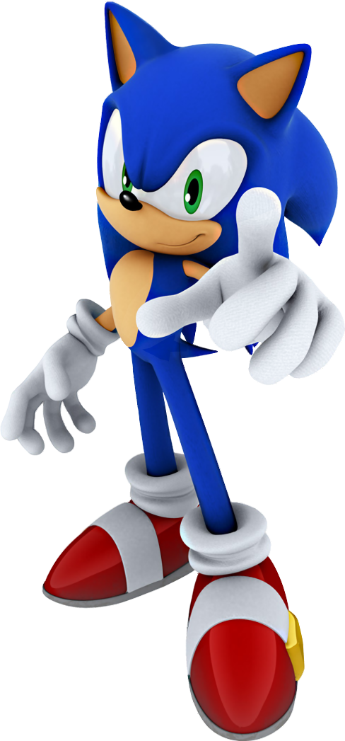 Sonic The Hedgehog PNG - 13009