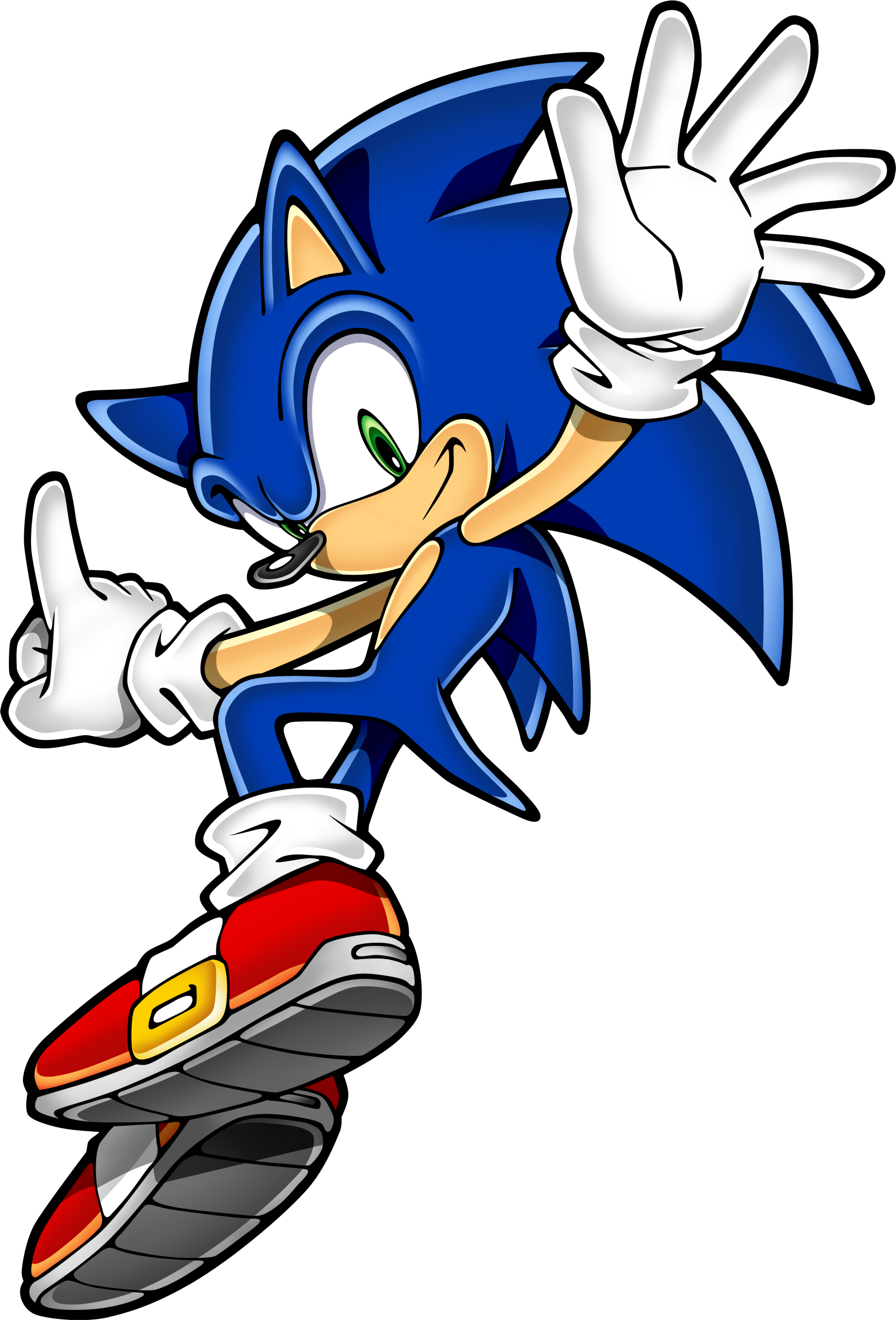 Sonic Art Assets DVD - Sonic The Hedgehog - 11.png - Sonic The Hedgehog PNG