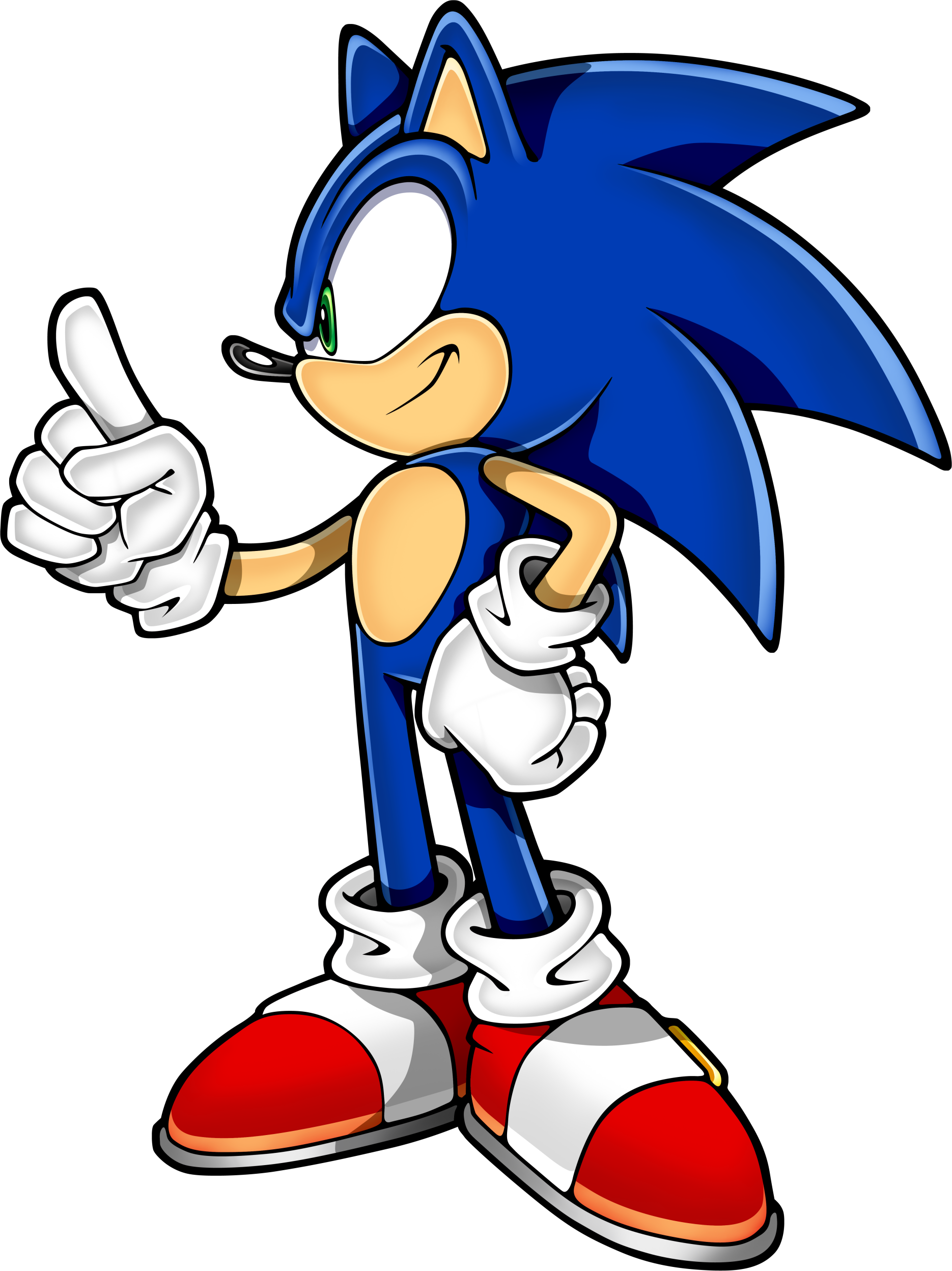 Sonic Art Assets DVD - Sonic The Hedgehog - 13.png - Sonic The Hedgehog PNG