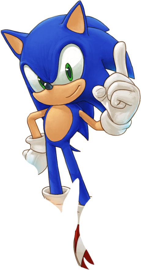 Sonic The Hedgehog PNG - 13016