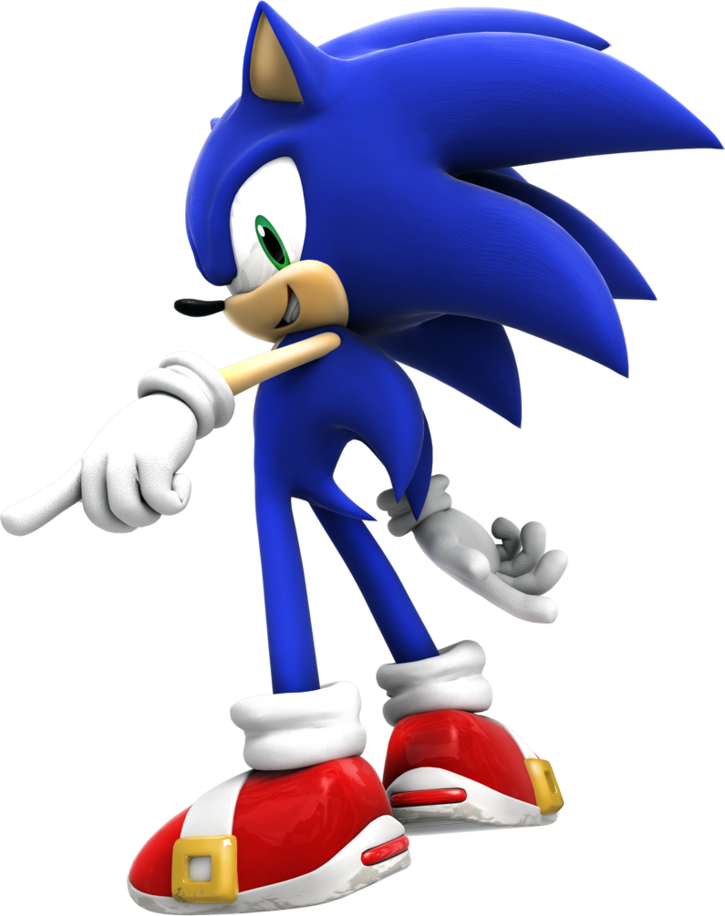 Sonic(Sonic Alliance).png - Sonic The Hedgehog PNG